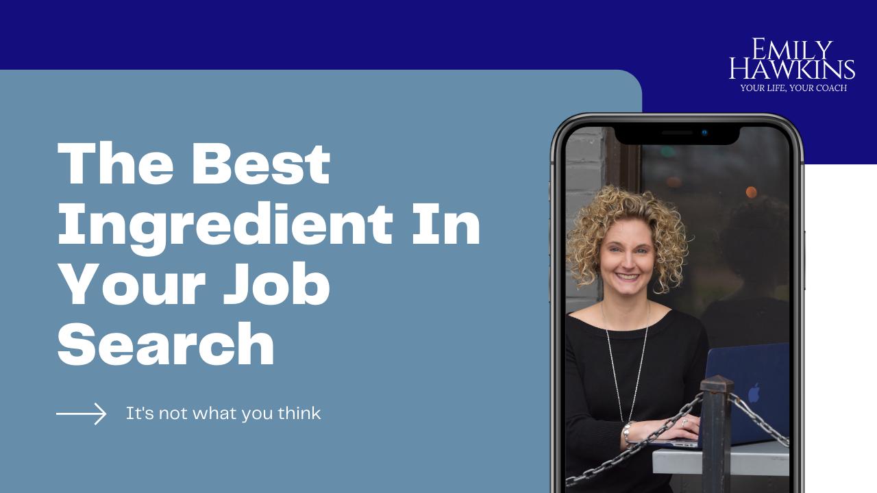 Job search ingredient