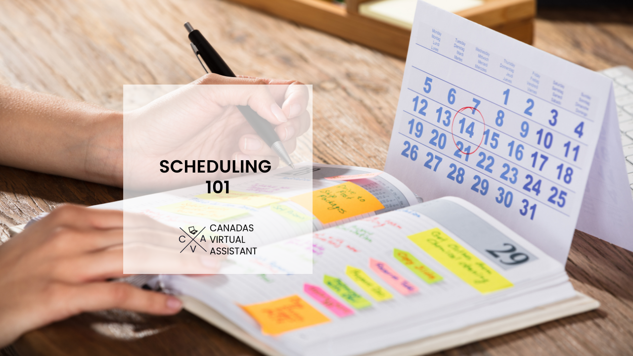 Scheduling for Productivity
