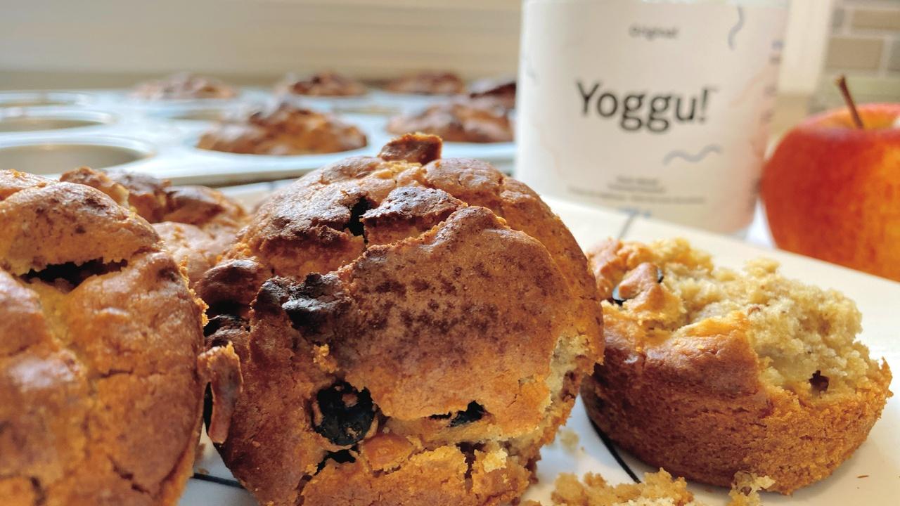 Gluten-Free Apple Coconut Yogurt Muffins