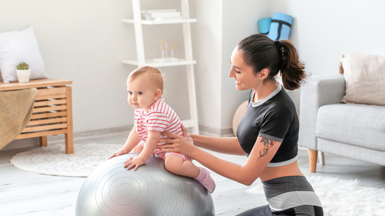 ejercicios para bebés