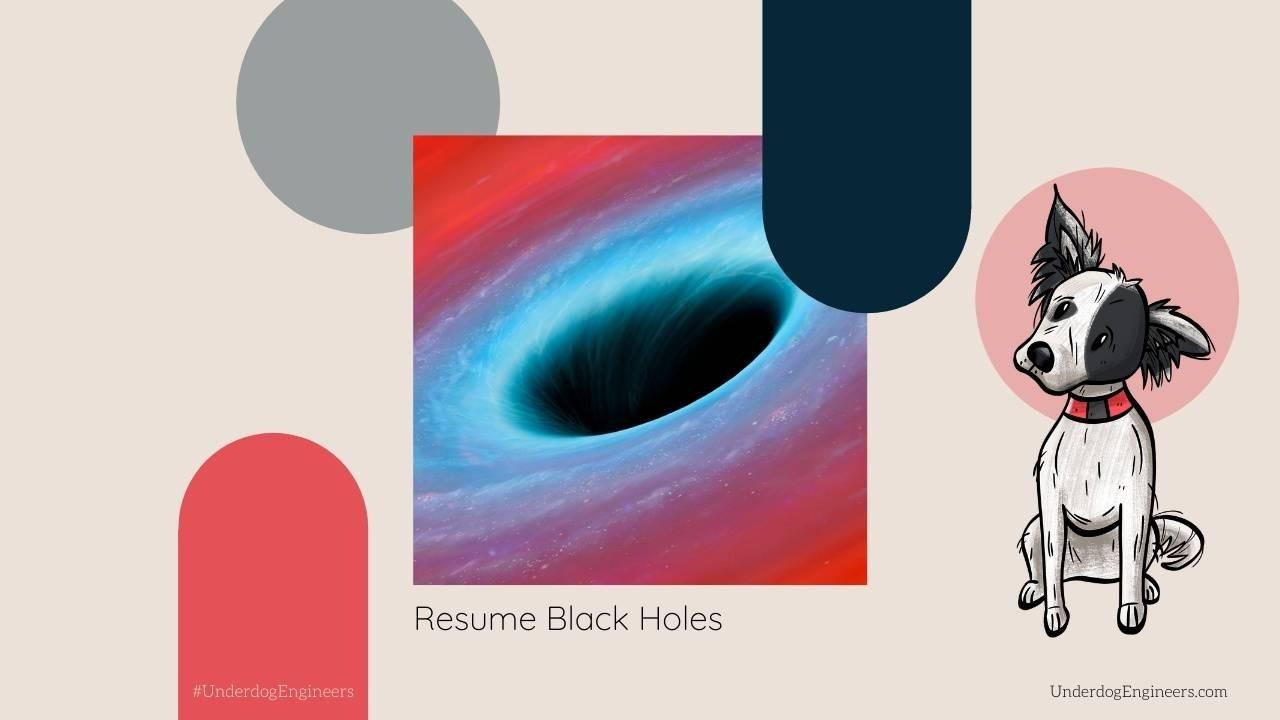 Mel Butcher, Mel Butcher's Underdog Engineers Blog, Black Hole