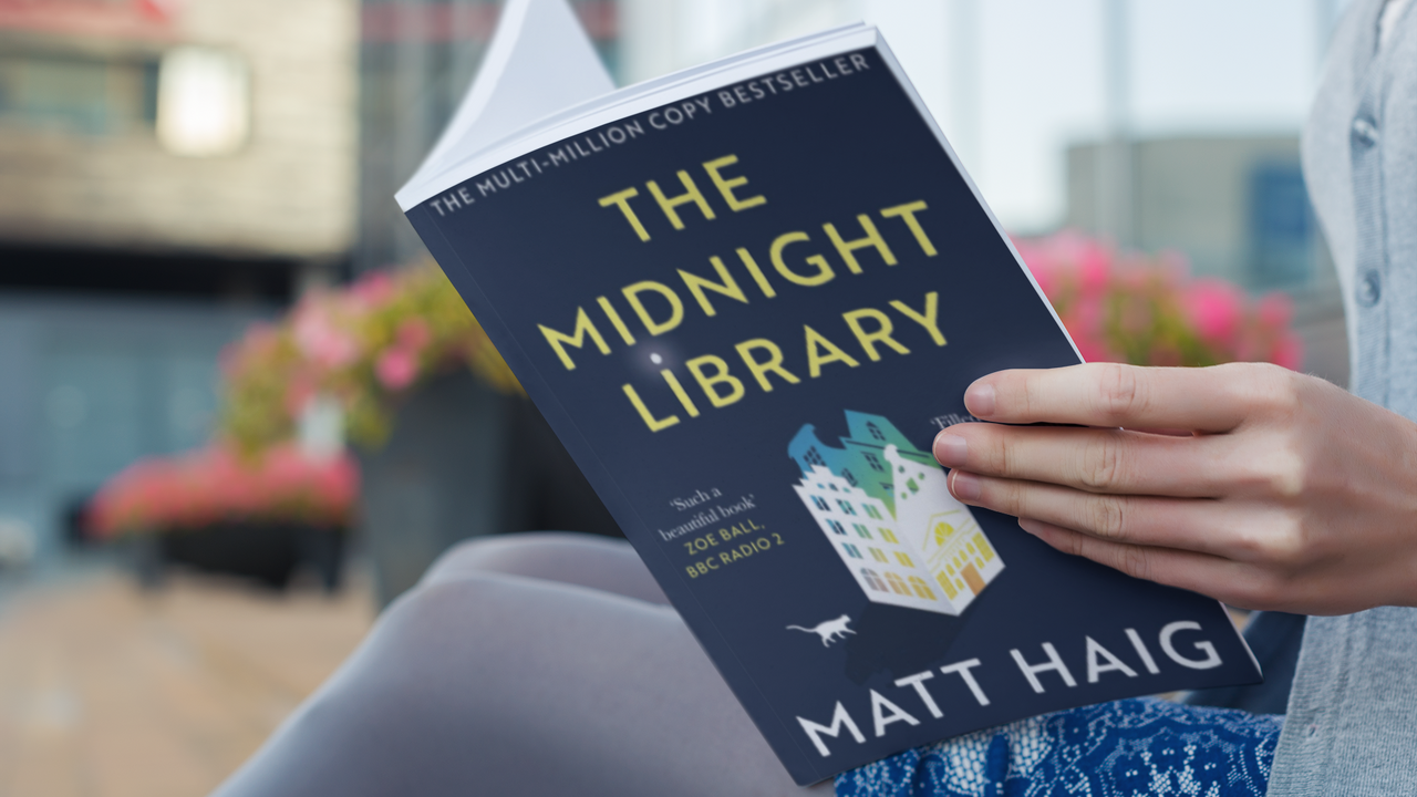 Matt Haig book: The Midnight Library