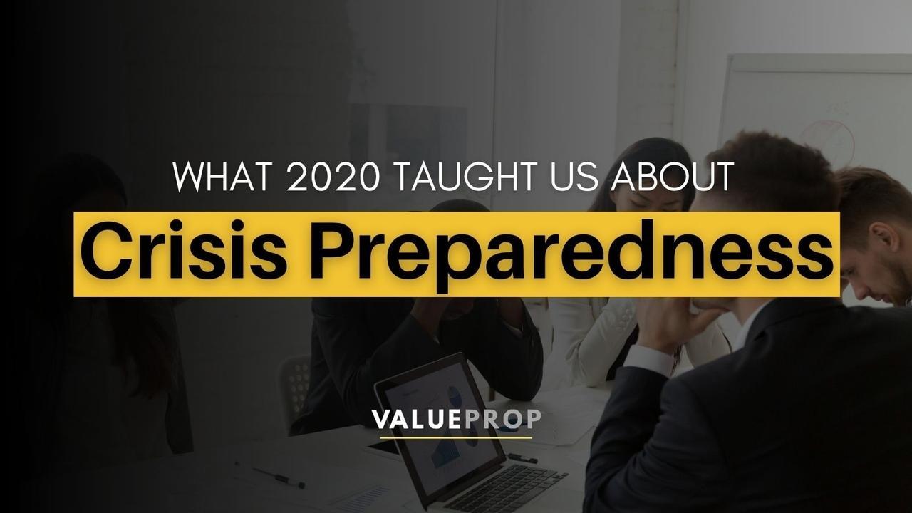 business preparedness crisis
