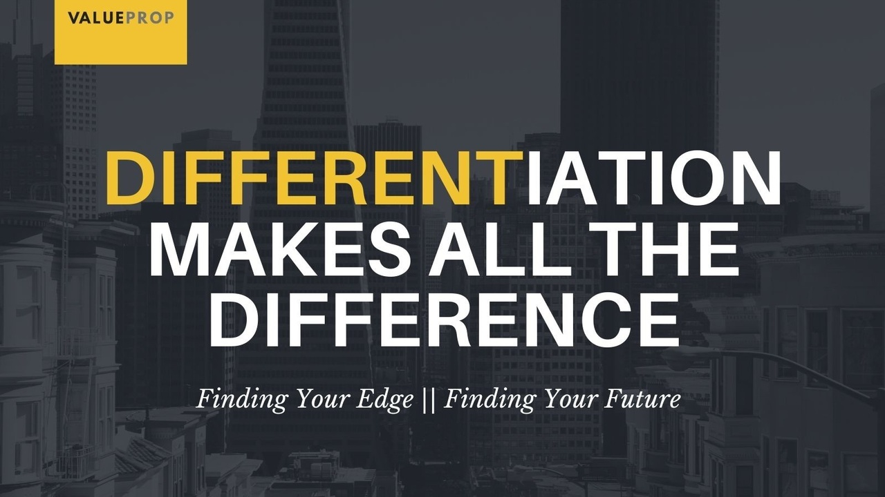 When you're competing in crowded markets, differentiation can make or break the success of your product or service. Here's how to differentiate your business when it matters most.