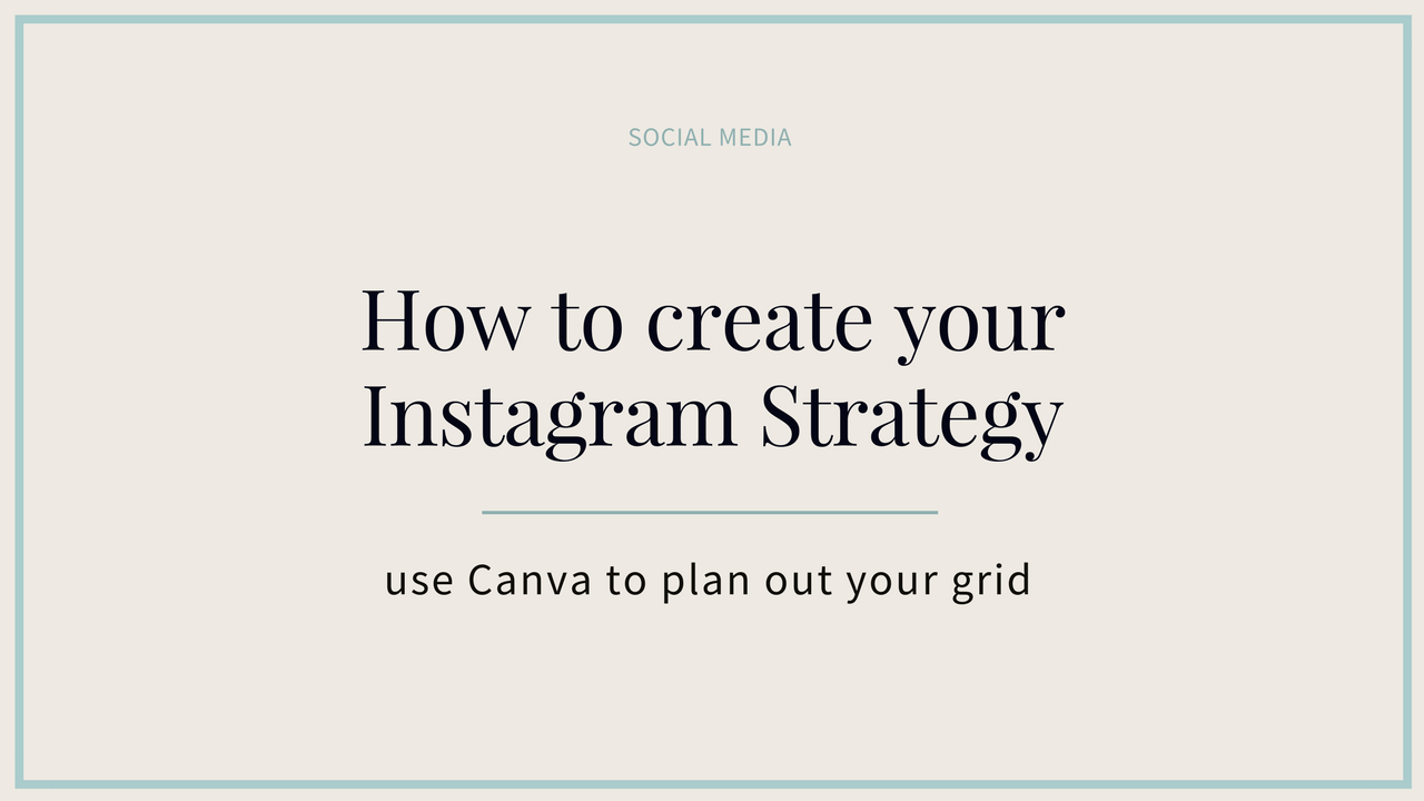 Create Instagram Grid Image
