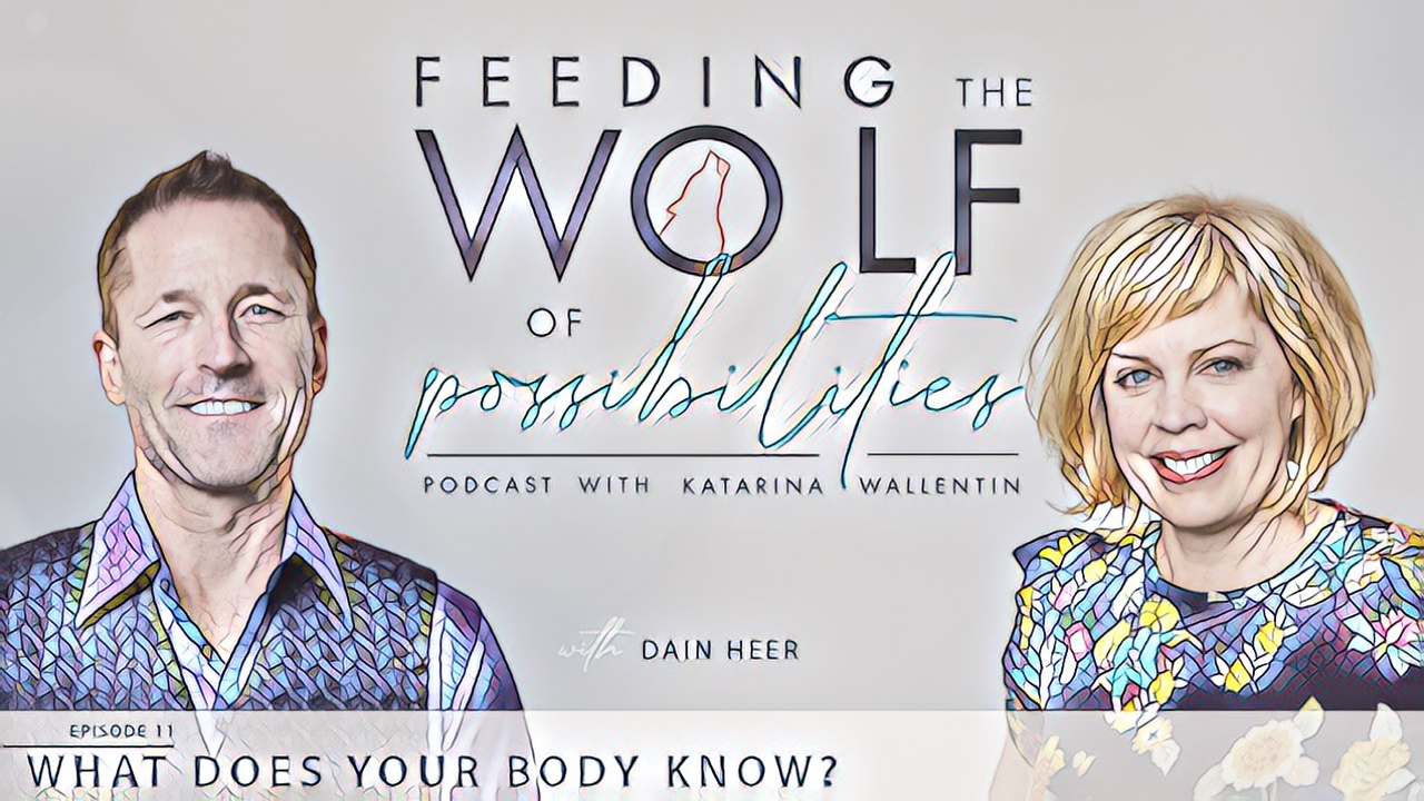 What Does Your Body Know? New episode on Feeding the Wolf of Possibilities Podcast with Katarina Wallentin and guest Dr Dain Heer