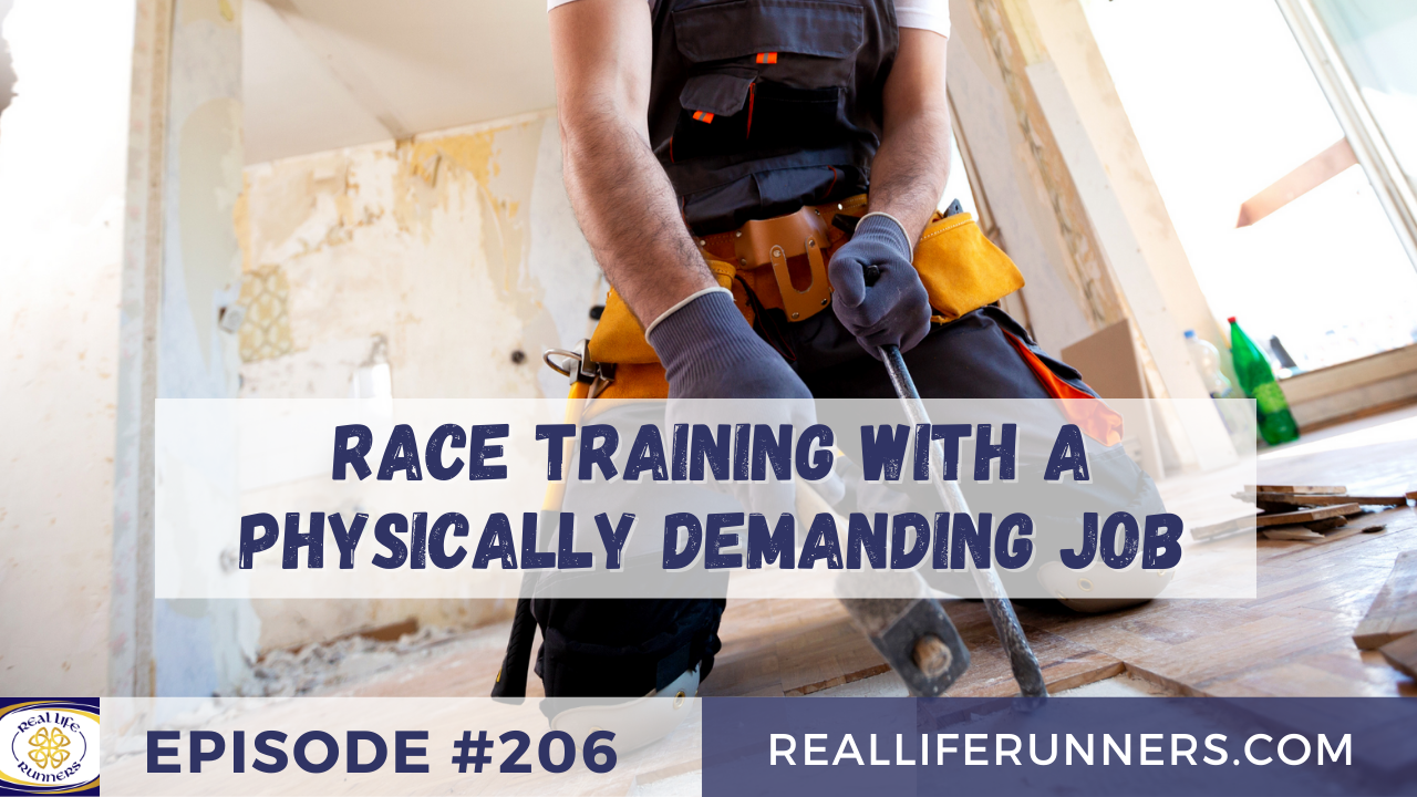 Training with a Physical Job