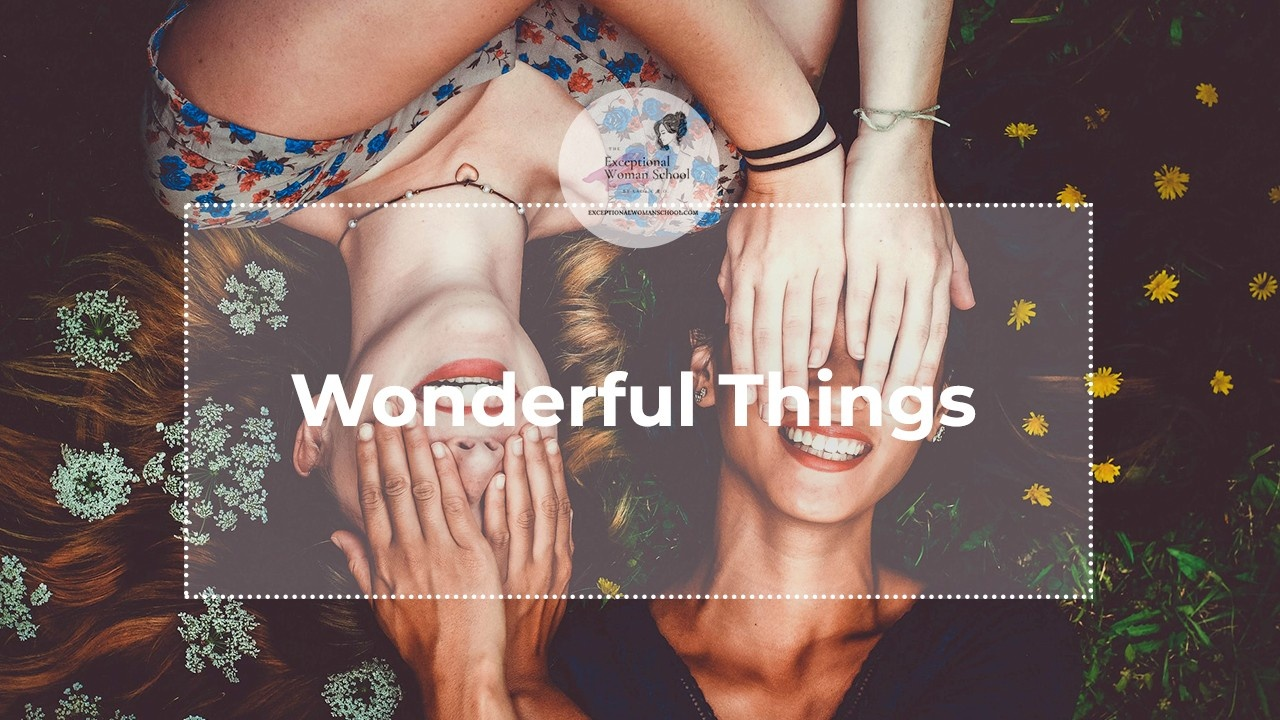 Do You Believe That Wonderful Things Can Happen FOR YOU?