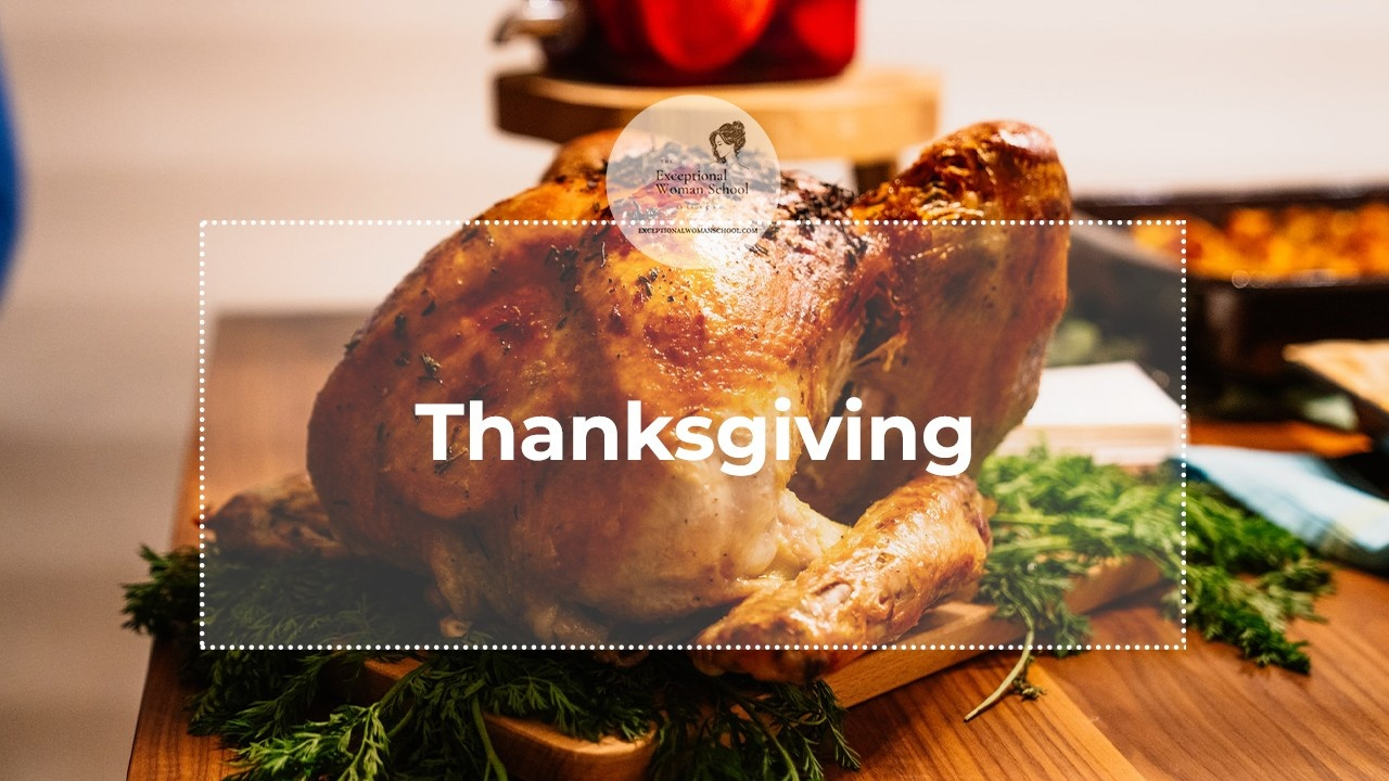 What Are You Grateful For: A Special Thanksgiving Message