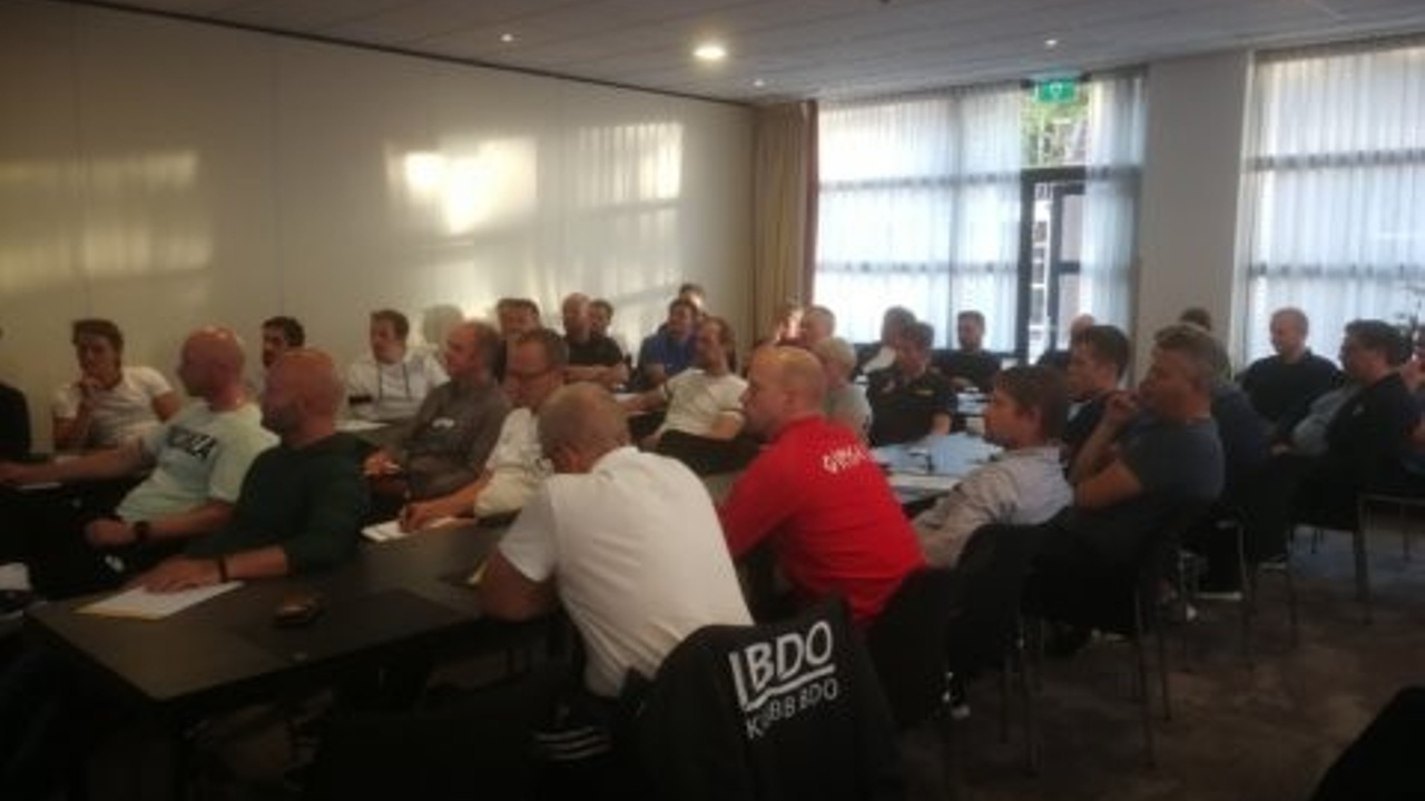 Norwegian coaches at Holland Football University