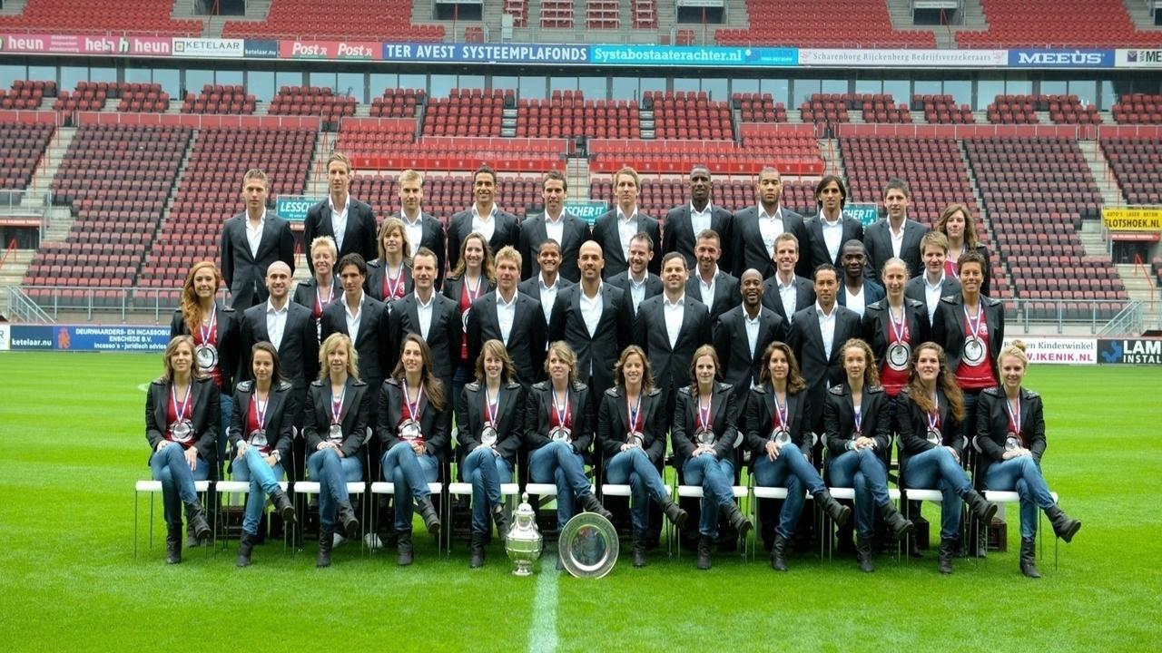 Mary Kok-Willemsen Headcoach FC Twente Women, National Champions 2010-2011