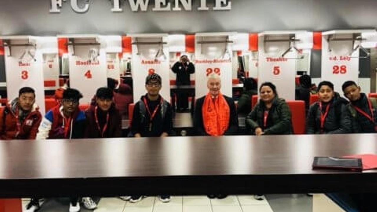 Nepal Players visit Holland Football University