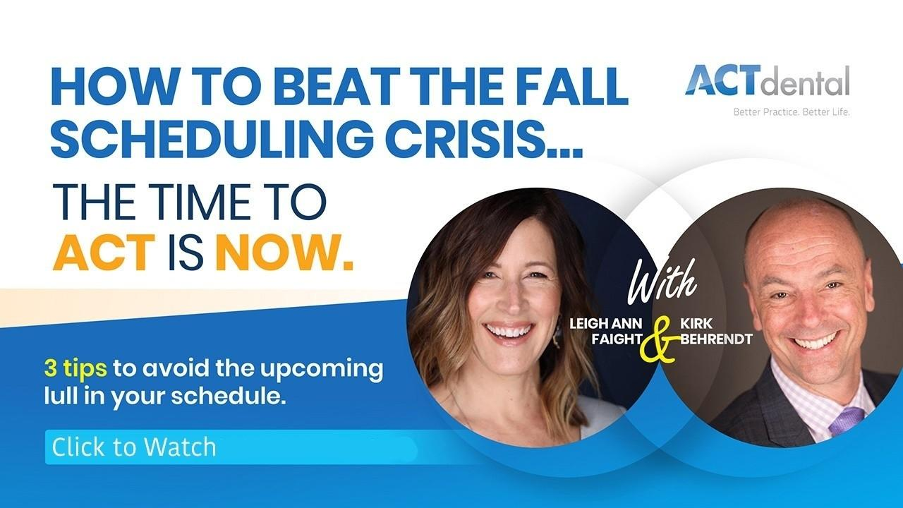Fall Scheduling Crisis
