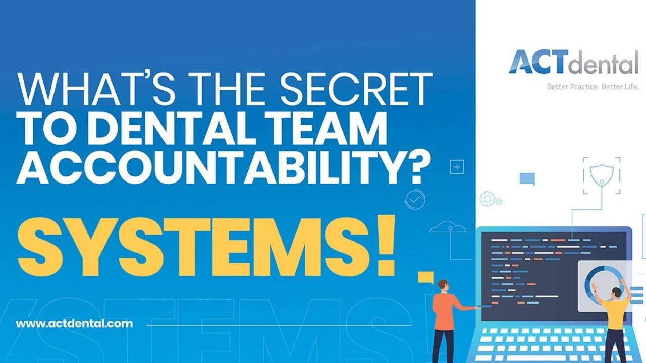 Dental Tam Accountability banner