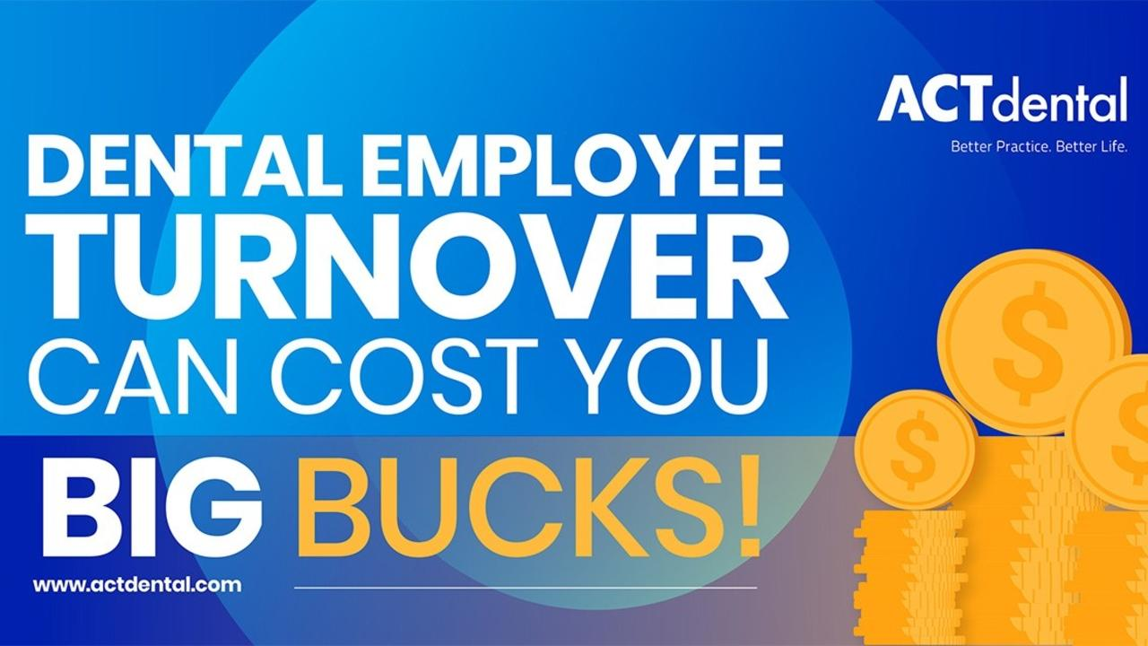 Employee turnover cost banner