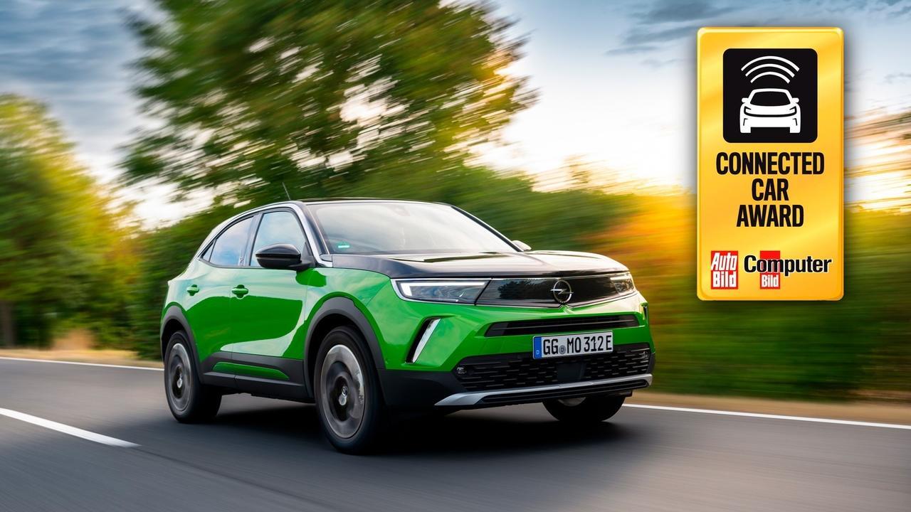 """Opelin uusi Mokka, joka on tehty uuden Peugeot 2008:n perusrakenteelle, mutta Opelin ilmeellä, on voittanut """"Connected Car 2020"""" -palkinnon."""