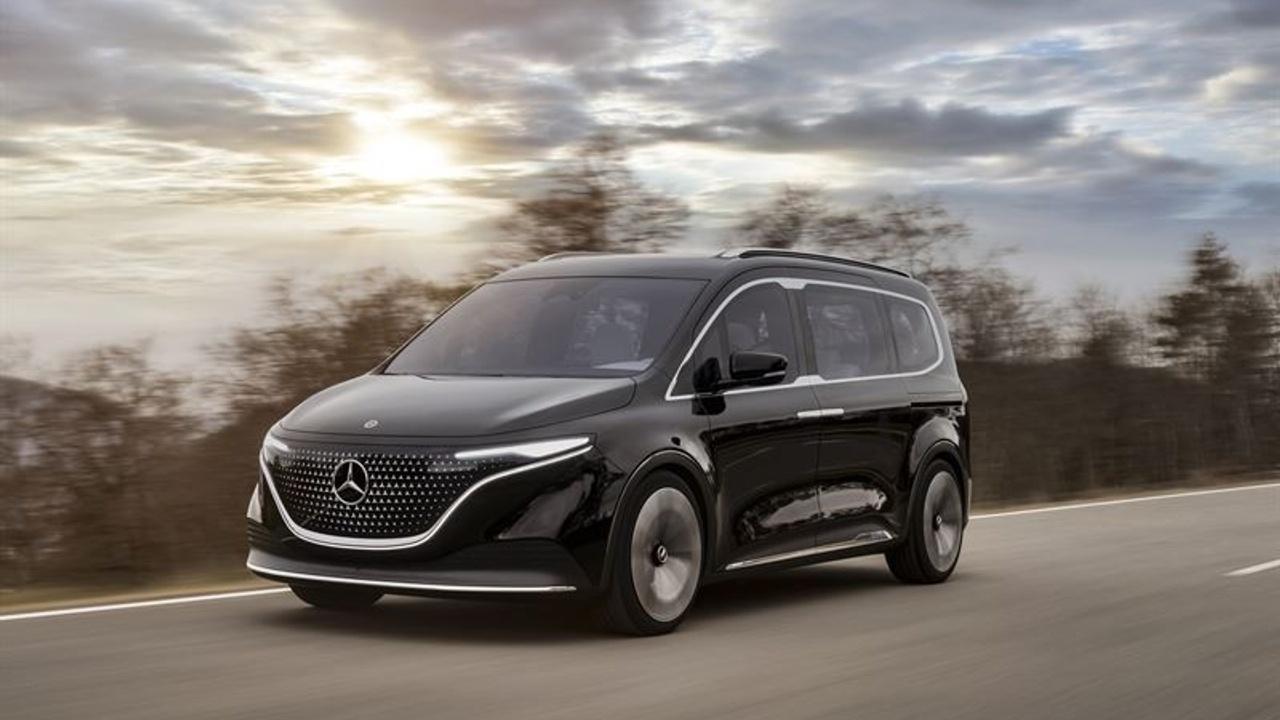 Mercedes-Benz tuo sähköllä kulkevan tila-auton markkinoille