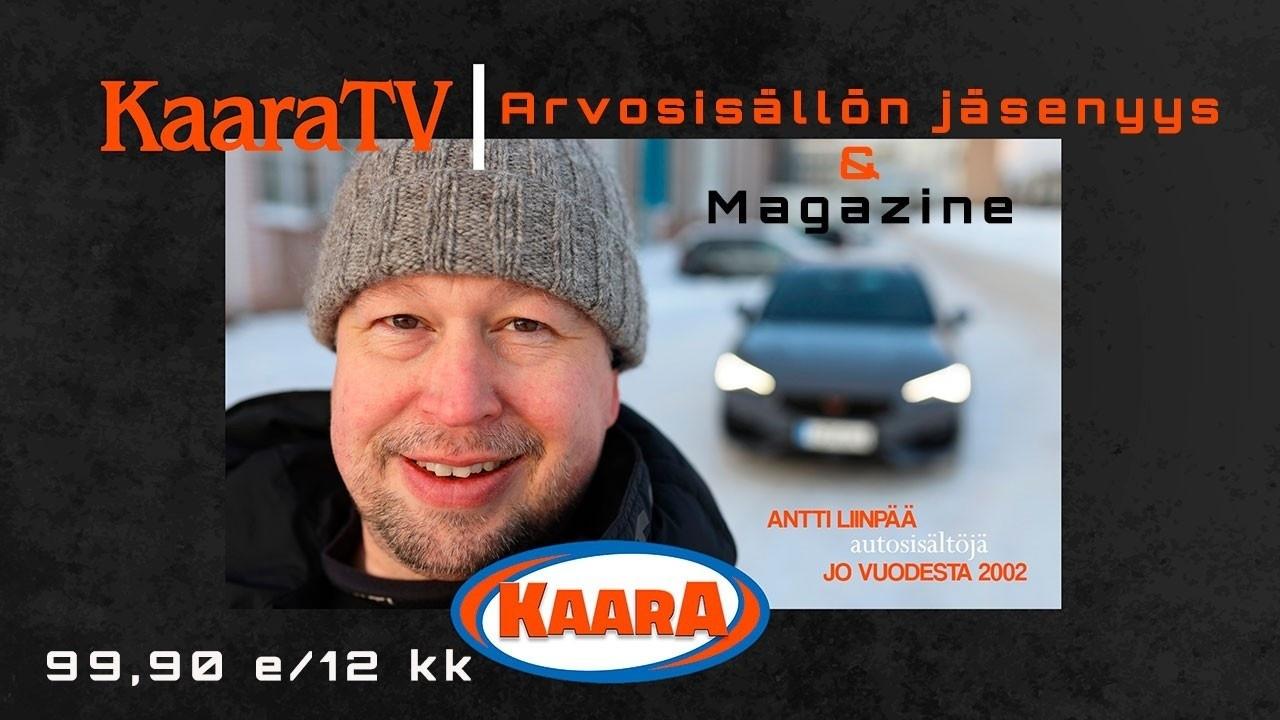 KaaraTV:n arvosisällön jäsenalueella ja KaaraTV Magazinen artikkelien ja ääniohjelmien kuuntelijaksi pääsee edullisella yhteistilauksella