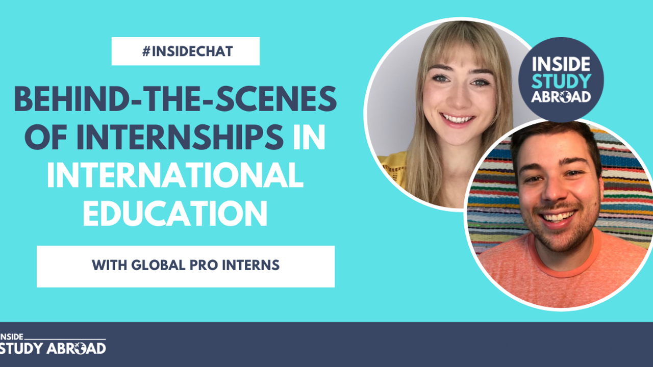 GPI Intern Interview - Danielle Twichel - Chris Strohofer - Inside Study Abroad