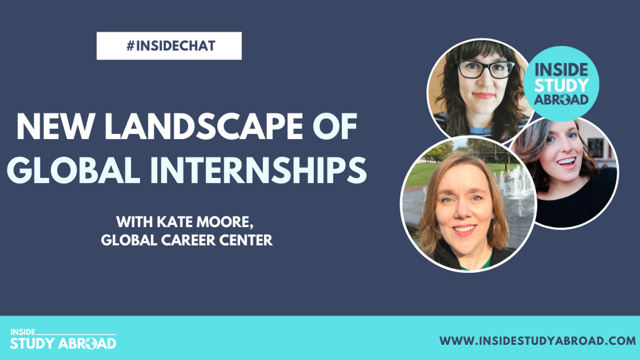 Global Internships - Kate Moore - Inside Study Abroad