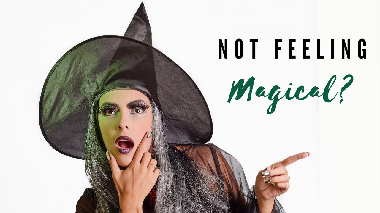 Not feeling magical