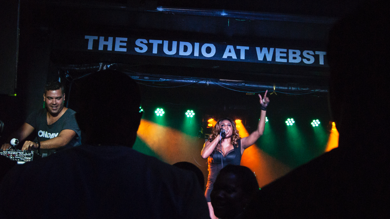 ONDRAY PLAYED IN WEBSTER HALL, NEW YORK