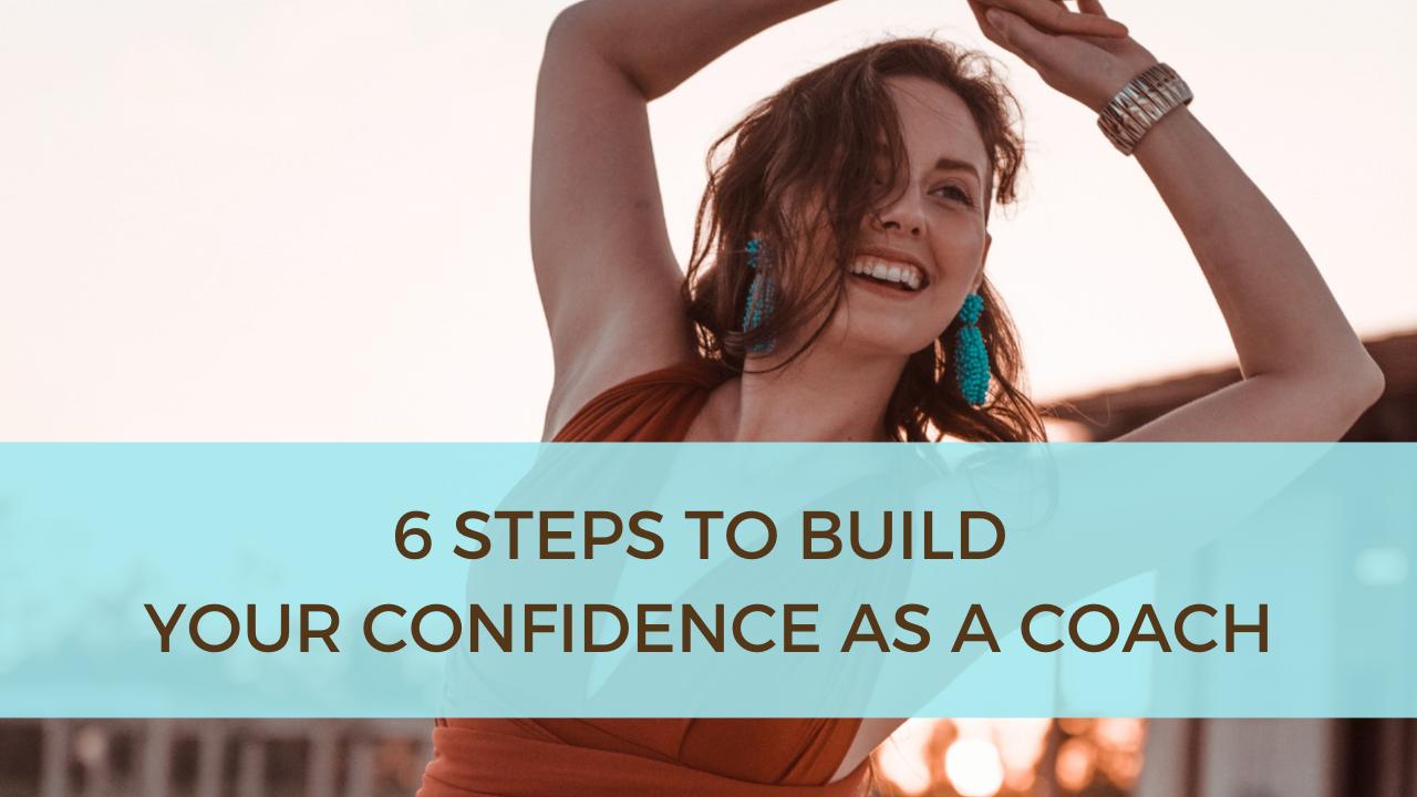 Build confidence as a coach