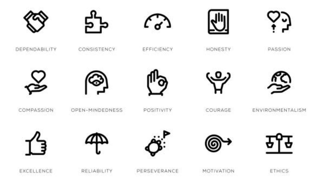 istock photo of core values