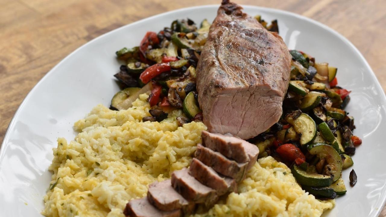 Family-friendly dinner idea - pork tenderloin