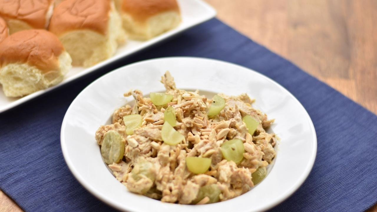 Curry chicken salad, a quick and easy chicken recipe