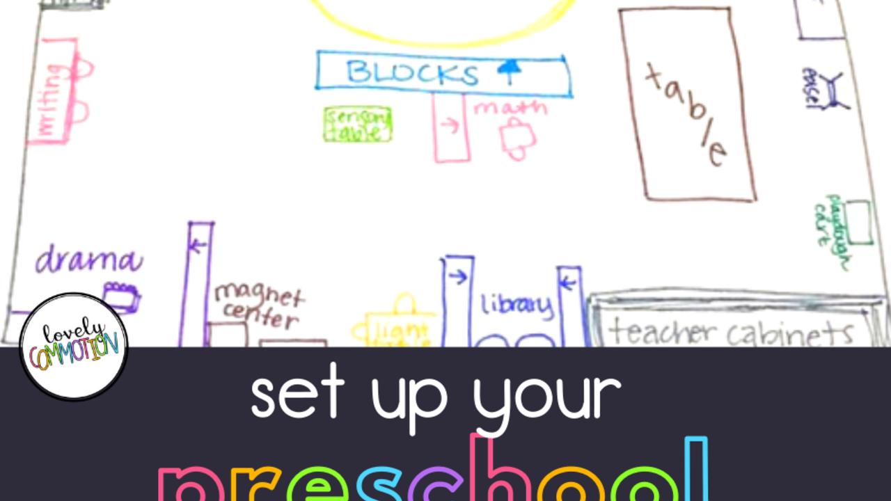 How To Set Up A Preschool Classroom