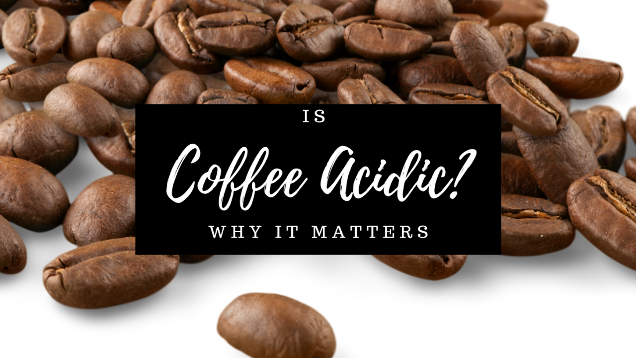Is coffee acidic? Coffee Beans stomach acid indigestion paleo AIP diet