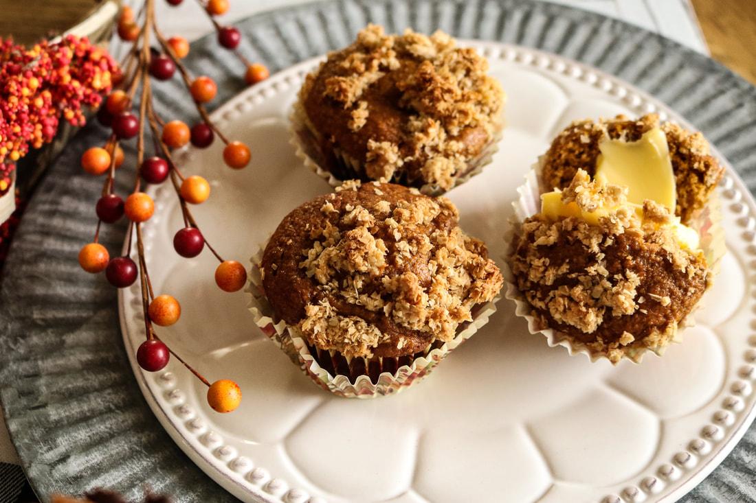 Pumpkin Spice Chai Muffins
