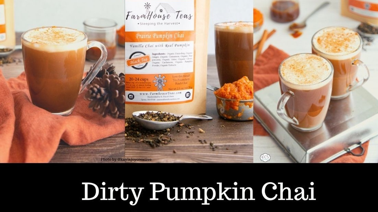 Starbuck's Dirty Pumpkin Chai Latte Recipe