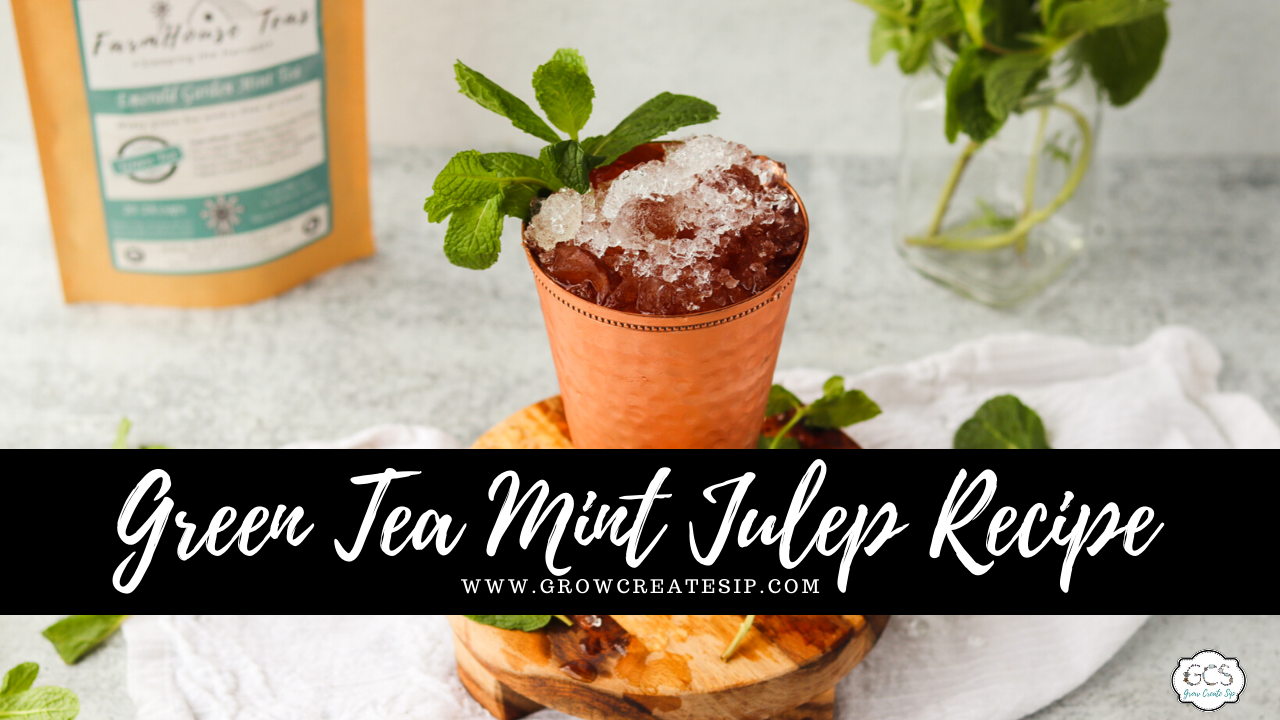 How do you make a mint julep cocktail