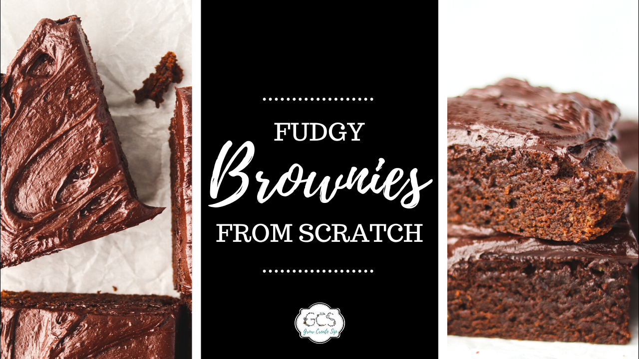How to make fudgy brownies from scratch recipe with chocolate dandelion root tea