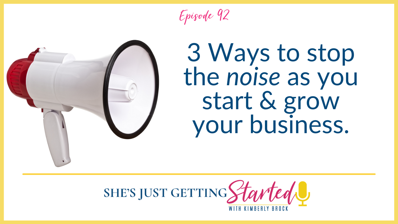 She's Just Getting Started podcast