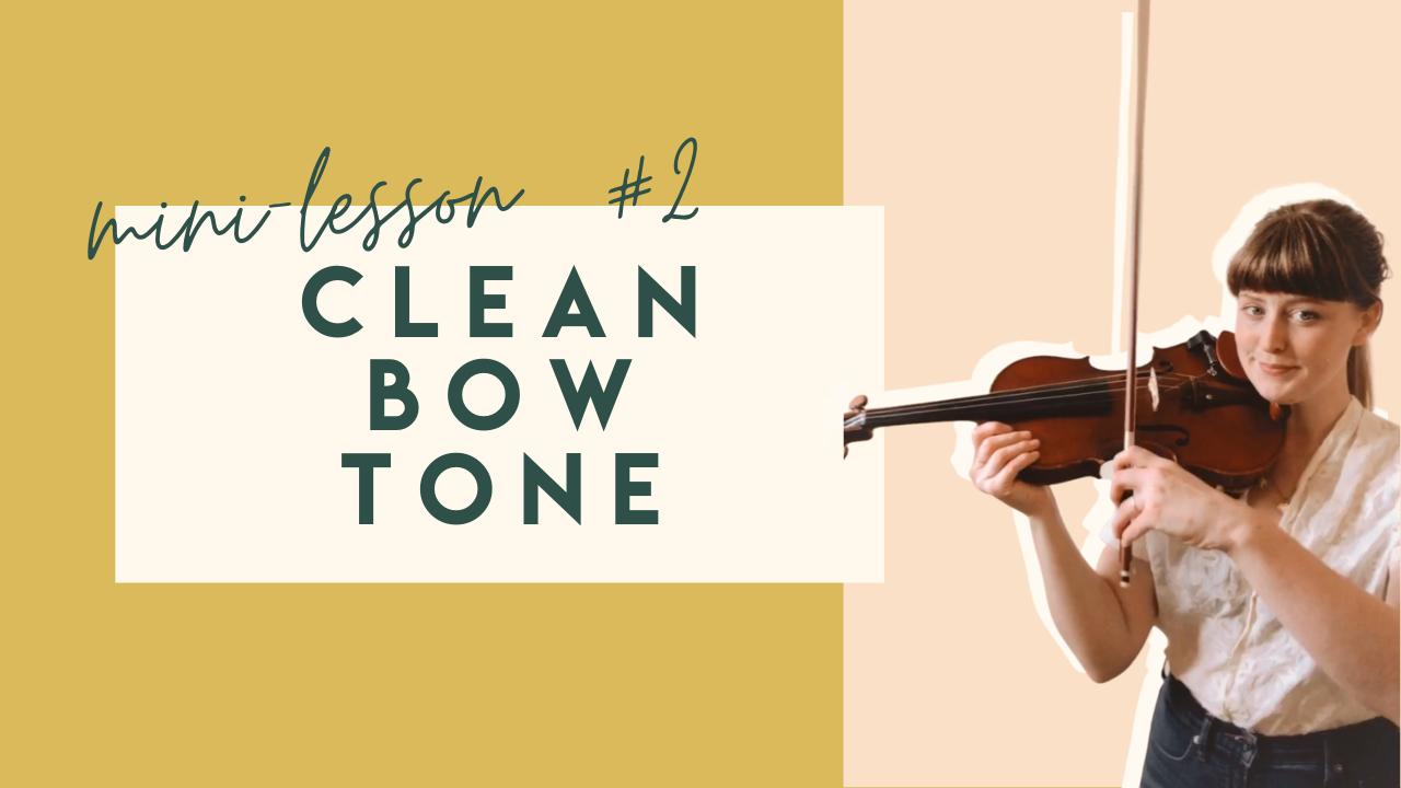 How to get good tone, sound from the violin