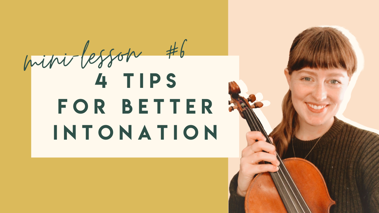 tips for playing in tune on the violin intonation finger placement