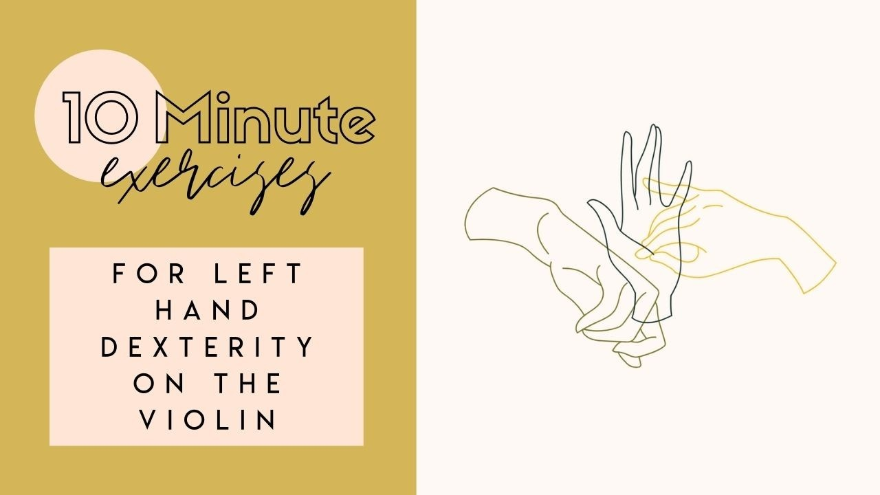 Violin Finger Dexterity Exercises