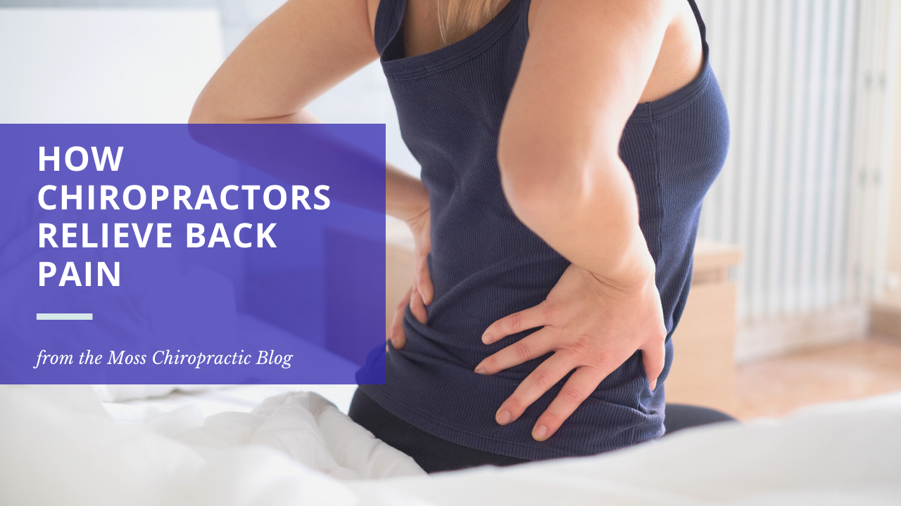 Back pain treatment at Moss Chiropractic