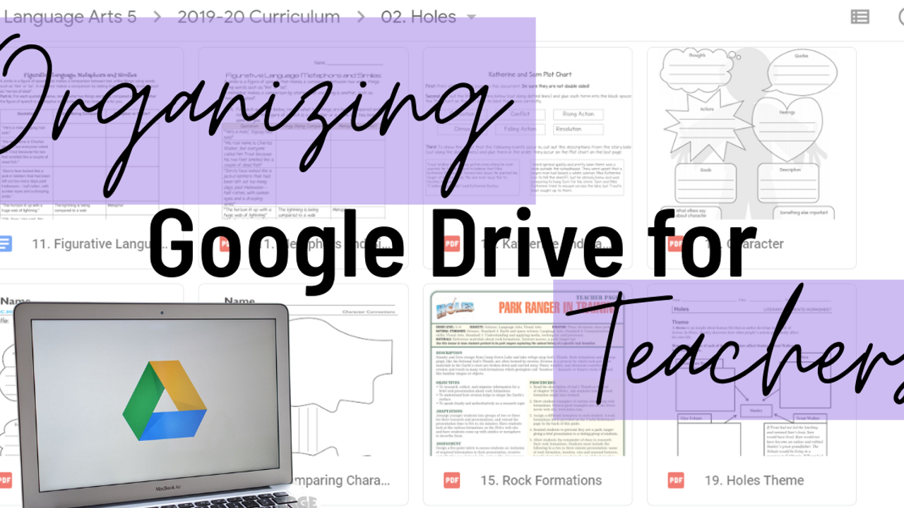 Organizing Google Drive for Teachers