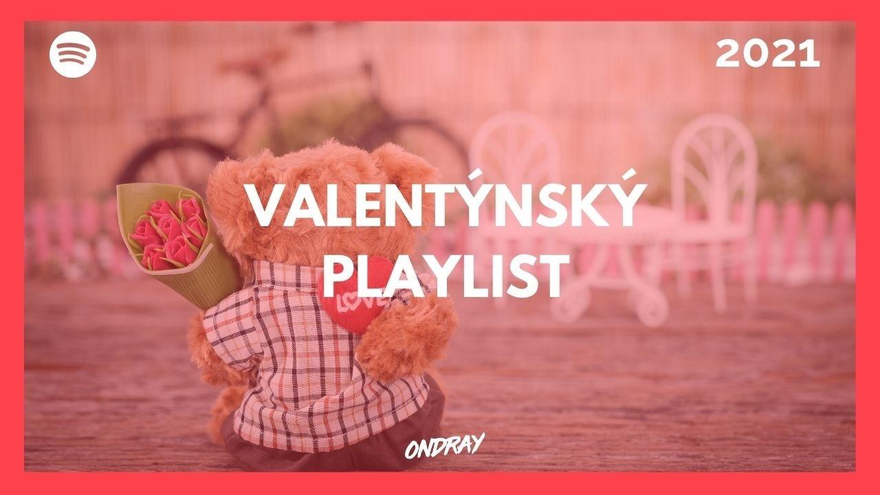 Svatý Valentýn, spotify, playlist, romantické písně, ploužáky