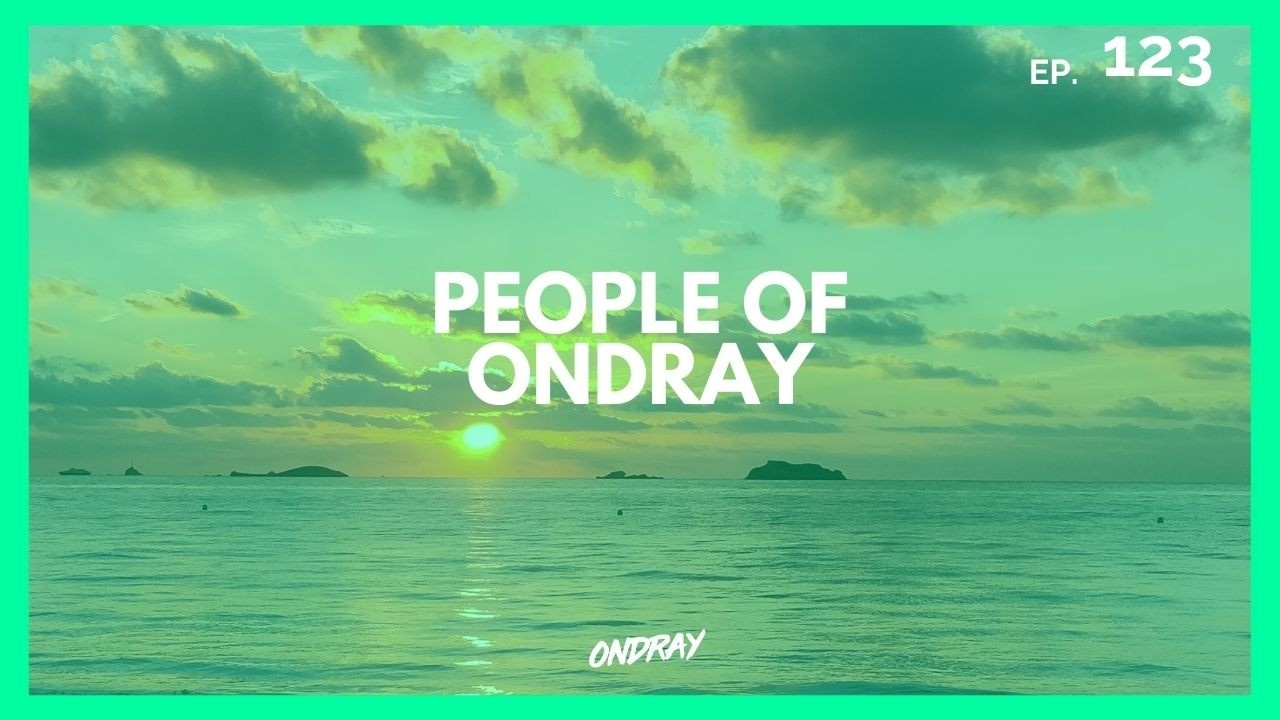 PEOPLE OF ONDRAY, HOUSE MUSIC PODCAST, mixcloud