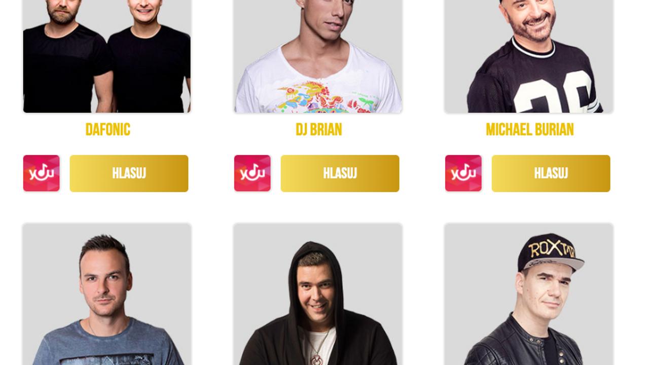 Ondray nominovaný v hudebních cenách rádia Evropa 2. Kategorie DJ roku.