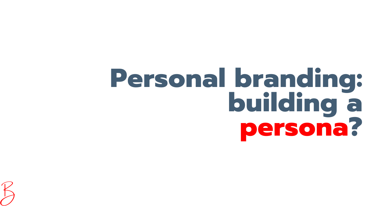 Personal branding is rooted in authenticity, not in a persona. Uncover your personal brand instead of creating one.