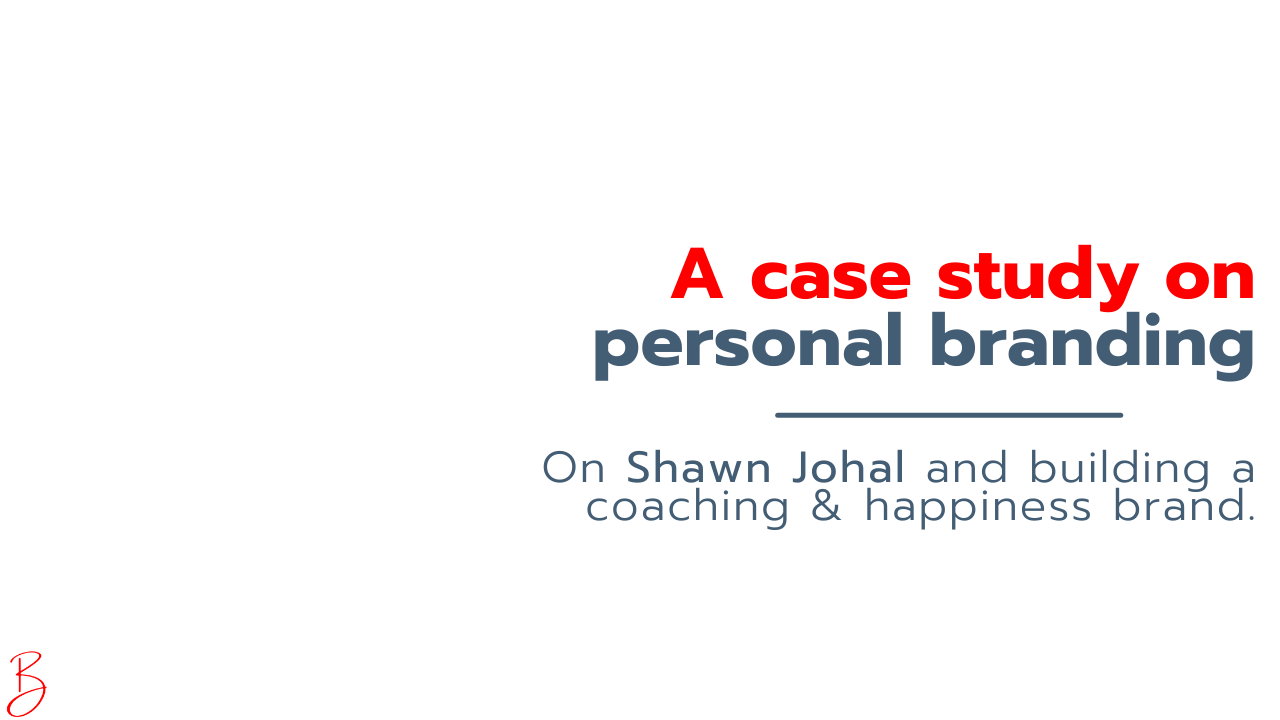 How to build a personal brand as a coach
