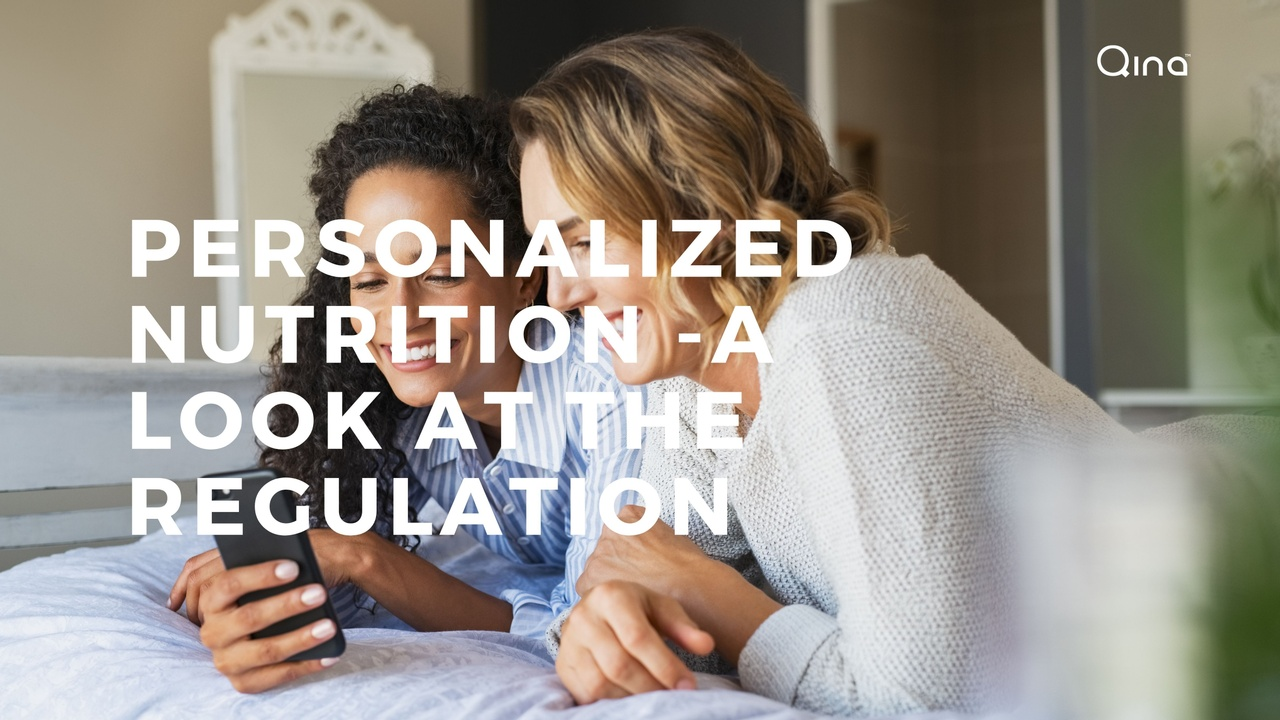 Personalized nutrition - a look at the regulation