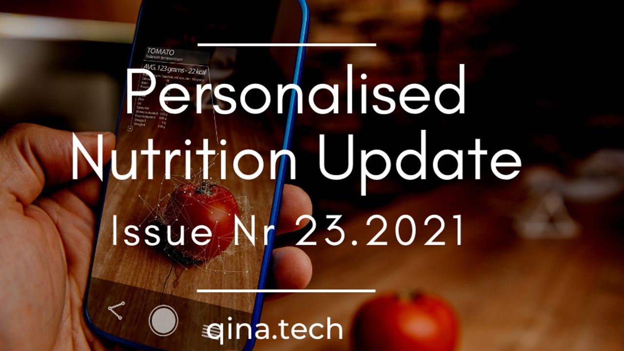 Investor $ continue to flow to personalized nutrition startups