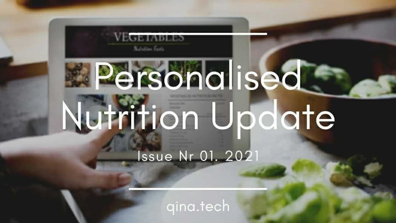 Personalised nutrition as a fresh start to 2021